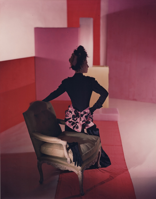 , 'Fashion: Black Dress & Pink and Black Bow (Schiaparelli),' 1947, Holden Luntz Gallery