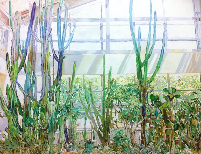 , 'Cactus 1,' 2013, Galerie Pici