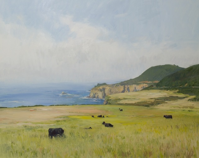 , 'Big Sur Cows,' 2014, Grenning Gallery