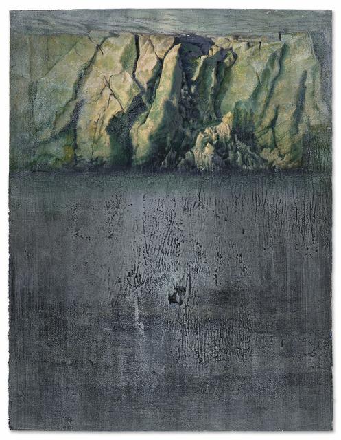 , 'Green Glacier,' 2016, Miller Yezerski Gallery