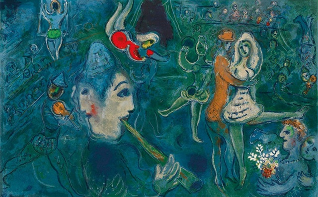 Marc Chagall, 'The Circus', 1967, DTR Modern Galleries