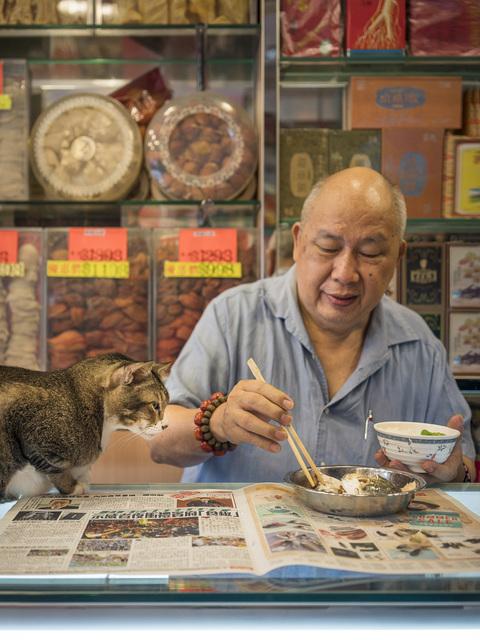 , 'HONG KONG SHOP CATS #22,' 2015, Blue Lotus Gallery