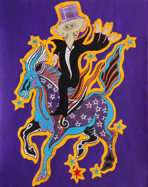 Pedro Friedeberg, 'Jinete en busca de dios', 2015, Ruiz-Healy Art