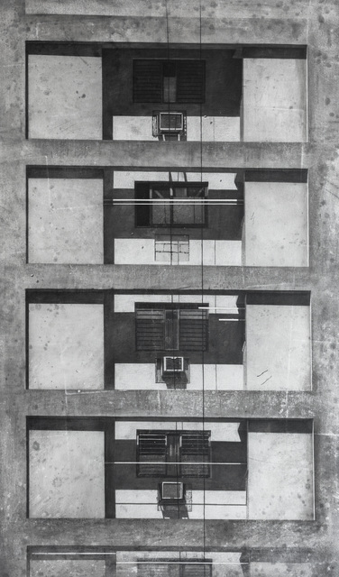 Daniel Rodríguez Collazo, 'De la serie: Ciudades Invisibles ( Invisible Cities )', 2018, Drawing, Collage or other Work on Paper, Charcoal on canvas, JCamejo Art