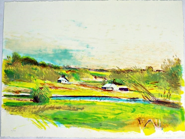 , 'Flood Plain Farm in Color,' 1985, Alpha 137 Gallery