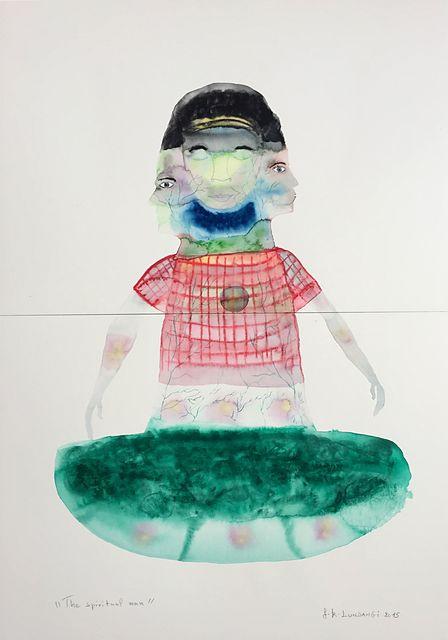 , 'The spirituel man,' 2015, Galerie Anne de Villepoix