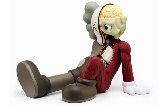 KAWS, 'Resting Place (Red)', 2013, MSP Modern Gallery Auction