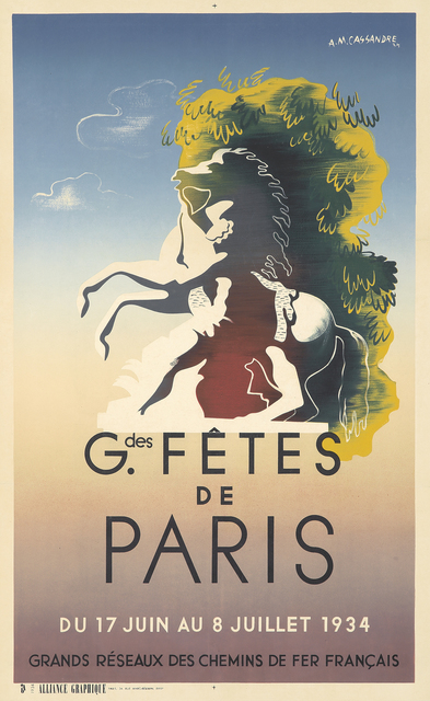 , 'Grandes Fêtes de Paris,' 1934, Rennert's Gallery