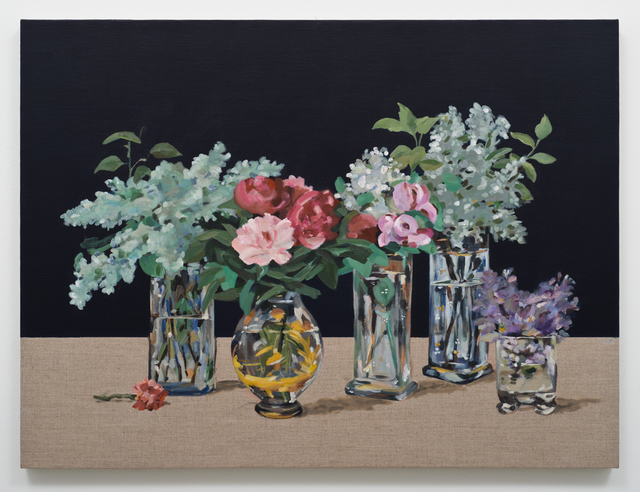 , 'A Clock Stopped 2 (Flowers after Manet),' 2017, Lora Reynolds Gallery