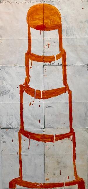 Gary Komarin, 'Orange and Creme CAKE', Bill Lowe Gallery