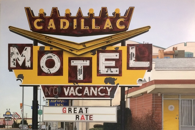 , 'Cadillac Motel,' 2018, The Front Gallery