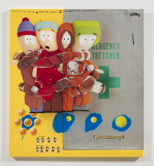 , 'stan, cartman, kenny and kyle (and dot),' 1958, Steve Turner