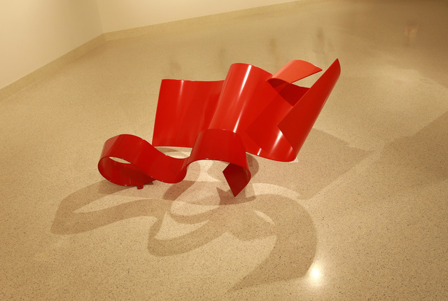 Zammy Z. Migdal, 'Undulating Trio in Red', 2016, Adamar Fine Arts