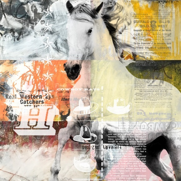 , 'Hats and Horses,' 2017, MiXX projects + atelier