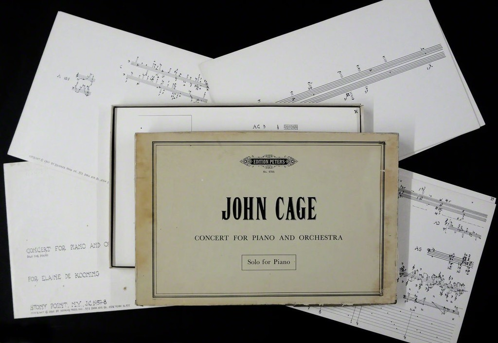 John Cage Concert For Piano And Orchestra Solo For Piano 1960