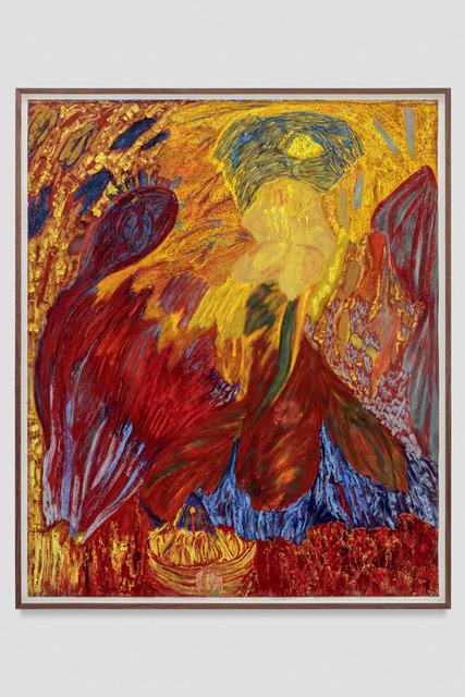 , 'Untitled (Devotional Flower Landscape),' 2018, Blum & Poe