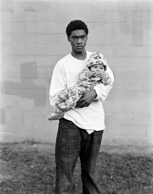 Dana Lixenberg, 'Tyrone with his son De'Anthony', 2013, GRIMM