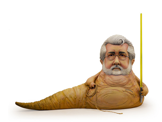 , 'George Lucas,' 2016, Jonathan LeVine Projects