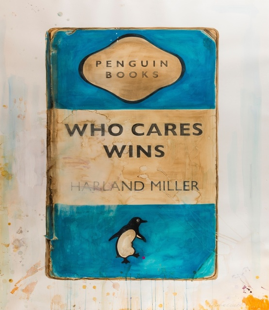 Harland Miller, 'Who Cares Wins', 2015, Forum Auctions