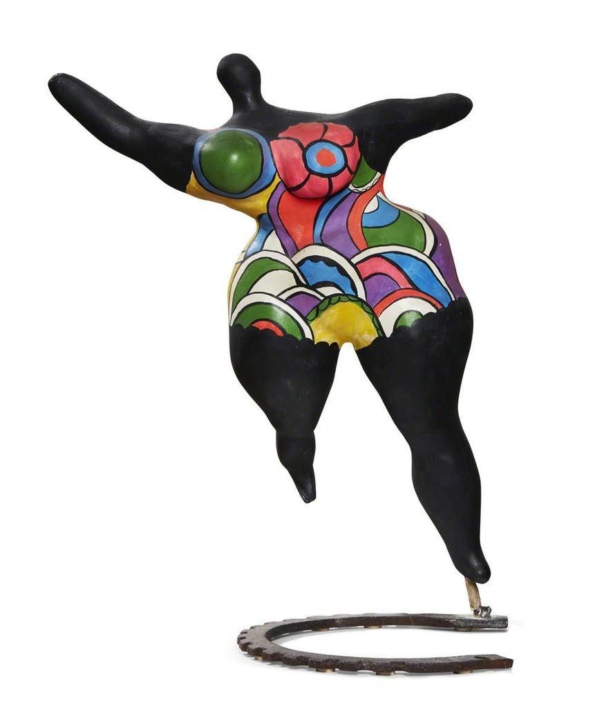 niki de saint phalle nana moyenne danseuse 1970. Black Bedroom Furniture Sets. Home Design Ideas