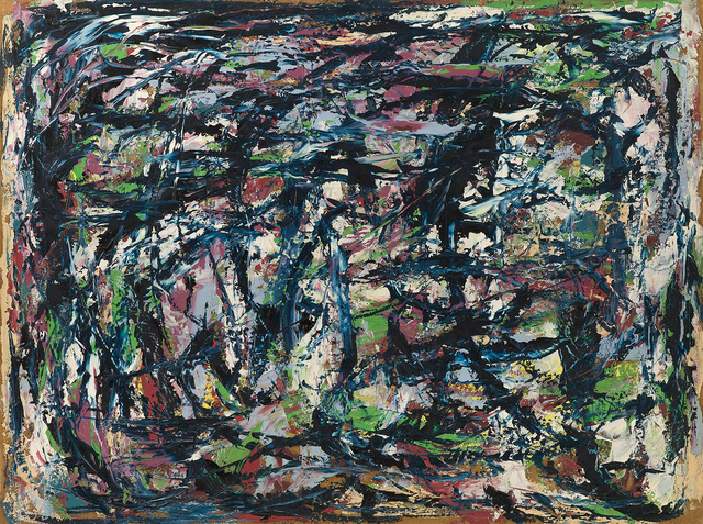 Raymond Hendler, 'Big Blue Cardboard (No. 4)', 1950, Berry Campbell Gallery