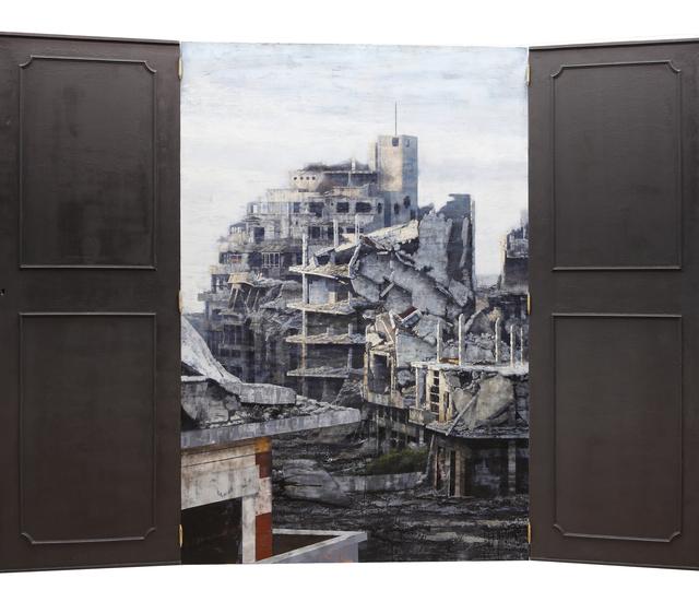 , 'UTOPOS / DISTOPOS (triptych),' 2017, Aurora Vigil-Escalera Art Gallery