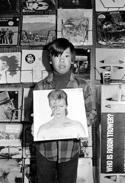 , 'Chris in Record Store, from the series The Jangs,' 1973, Asian Art Museum