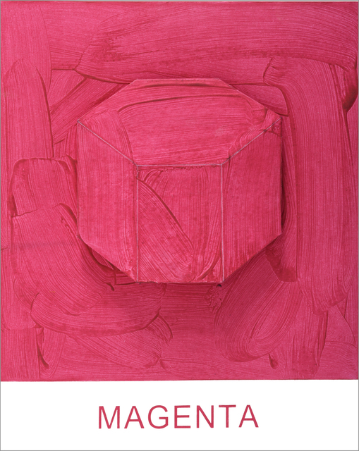 , 'Eight Colorful Inside Jobs: Magenta,' 2017, Mixografia