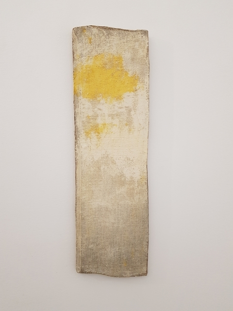 Lawrence Carroll, 'Untitled, Yellow Moment Painting', 2019, Buchmann Galerie Lugano