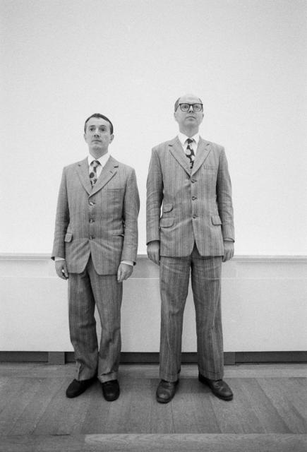 , 'Gilbert & George, Bâle,' 28.09.1986, Musée d'Art Moderne de la Ville de Paris
