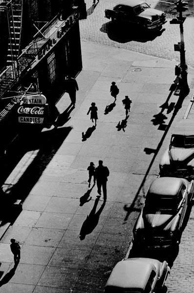 , '125th Street From Elevated Train,' 1950, Galerie Thierry Bigaignon