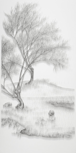 , 'Imitating Buffalos Pasturing under a Willow by Unidentified Artist, Song Dynasty,' 2013, Tina Keng Gallery