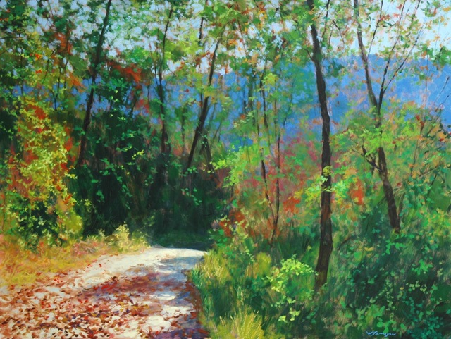 , 'Carolina Backroad Series I,' 2018, Shain Gallery
