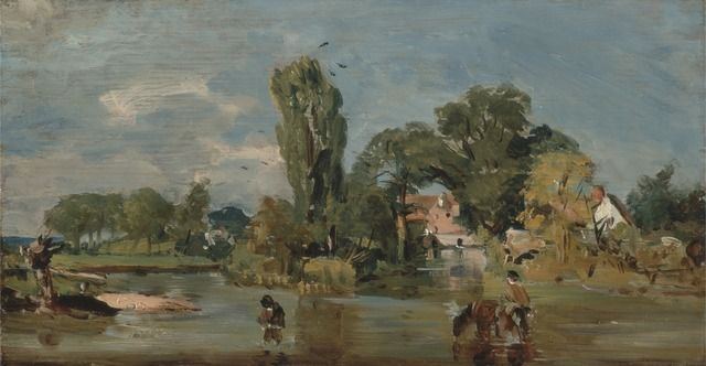 John Constable, 'Flatford Mill', between 1810 and 1811, Yale Center for British Art