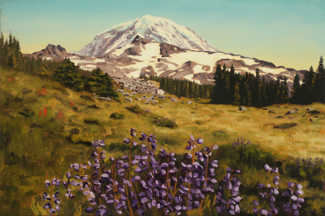 , 'Mount Rainier, Before,' 2016, G. Gibson Gallery