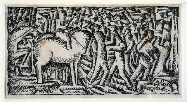, 'War,' 1915, Francis M. Naumann Fine Art