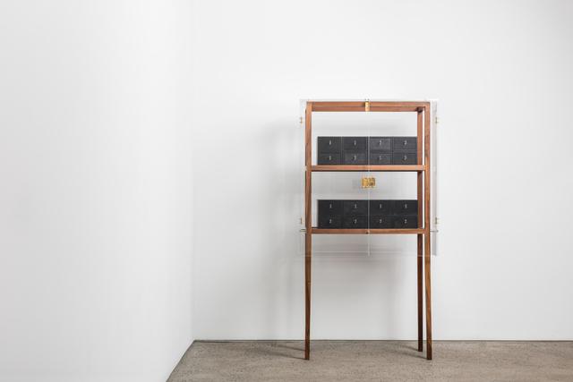 ", '""Walnut Frank"" + ""Deposit Boxes"",' 2015, Chamber"