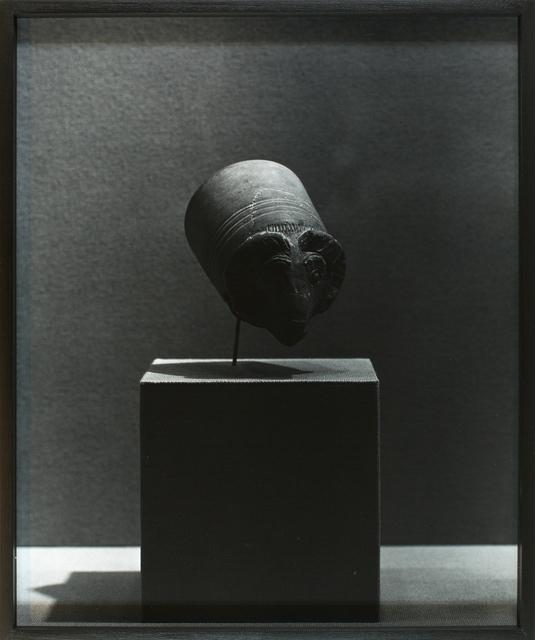 , 'Drinking vessel in the shape of a rams head,' 2013, Galerie Krinzinger
