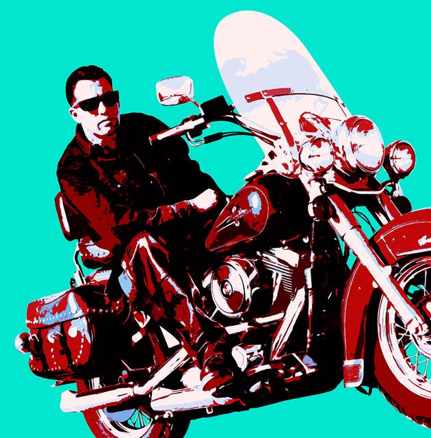 , 'Motorcycle Man,' , Winfield Gallery