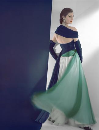 Horst P. Horst, 'Dress by Jean Desses', 1952, Bernheimer Fine Art