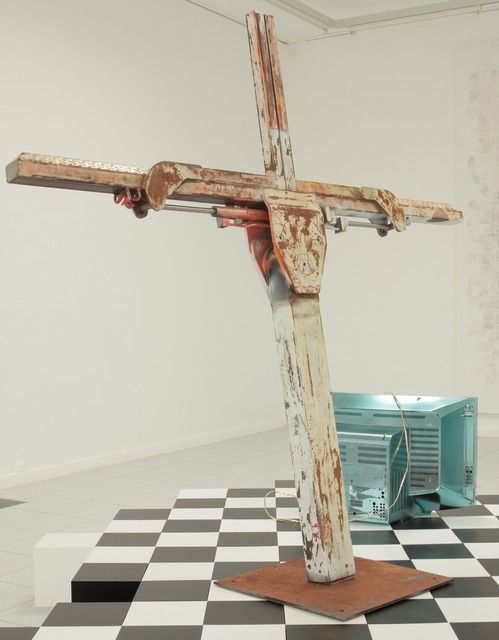 , 'Multicolored Tow Truck,' 2013, Museum Dhondt-Dhaenens