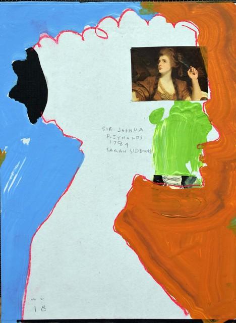 , 'Renold's Sarah Siddons,' 2018, Denise Bibro Fine Art