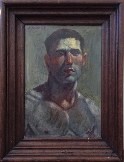 , 'Portrait of a Male Figure,' , Carrie Haddad Gallery