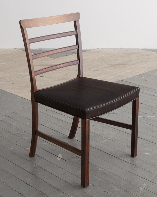 Outstanding Ole Wanscher Set Of Eight 8 Horsehair And Brazilian Ocoug Best Dining Table And Chair Ideas Images Ocougorg