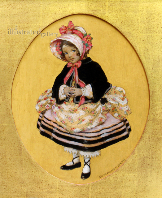 JESSIE WILLCOX SMITH, 'Girl with Bloomers, Good Housekeeping Cover', 1920, The Illustrated Gallery