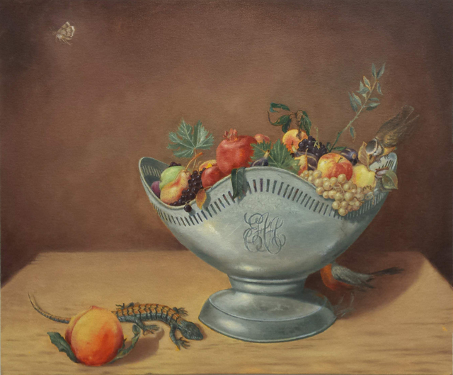 , 'Bowl of Fruit with Lizard ,' 2018, Court Tree Gallery