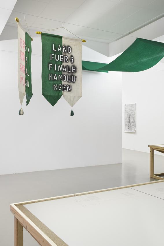 Till Krause Exhibition view Briesener Zootzen GAK Gesellschaft für Aktuelle Kunst, 2016 Photo: Tobias Hübel