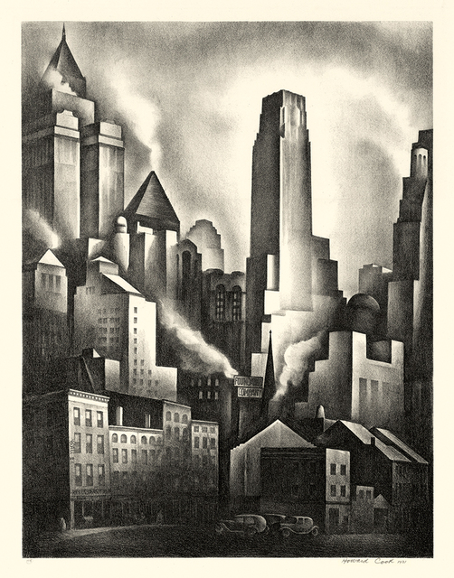 , 'Financial District,' 1931, Keith Sheridan, LLC