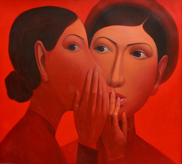, 'Gossips 4,' 2014, Gallery LVS