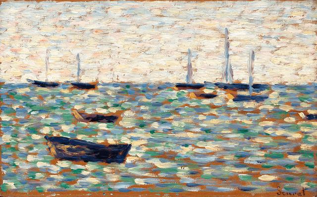 Georges Seurat, 'La Mer à Grandcamp', 1885,  M.S. Rau